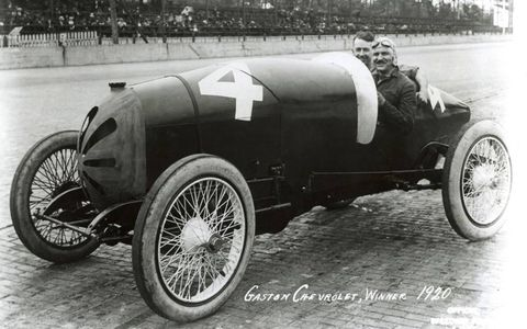 This Gaston Chevrolet won in 1920