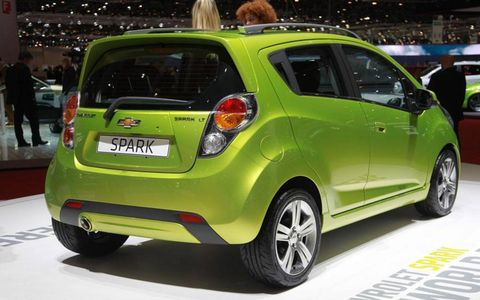 Although past GM statements suggested that the U.S. market was unlikely to receive the new subcompact, the company now says that the Spark will be sold here, starting in 2011 (other markets will get it as soon as next year).