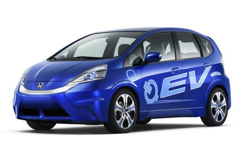 The Honda EV Concept