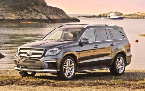 The 2013 Mercedes-Benz GL550 4Matic is a well-equipped machine.