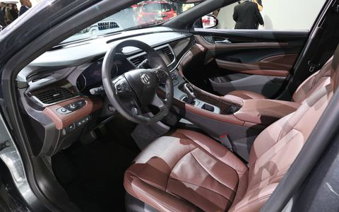 Buick significantly updated the interior of the 2017 LaCrosse.