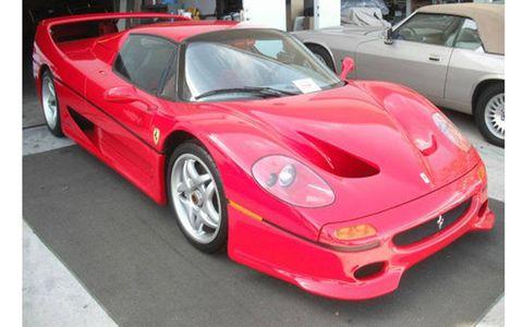 This Ferrari F50 was repaired by a certified Ferrari dealer.