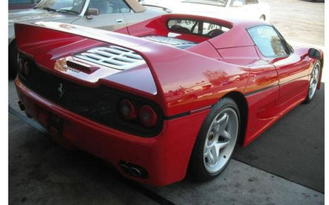 This Ferrari was stolen from a dealership in Pennsylvania.