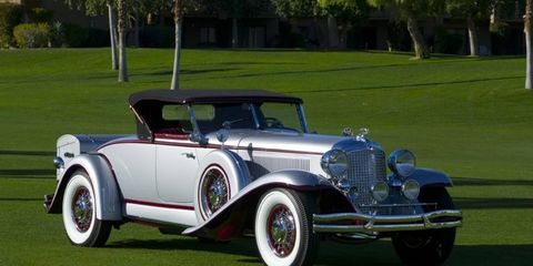 1931 Chrysler Imperial, Best in Show at the Desert Concours.