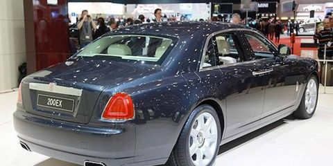 """Rolls-Royce has christened its latest concept the 200EX--a name that picks up on traditional terminology harking back to some of the company's more flamboyant prewar """"experimental"""" prototypes and subsequently revived on the 100EX in 2004. However, it is well known that the luxury sedan will head into production as the long-awaited rival to the Bentley Continental Flying Spur."""