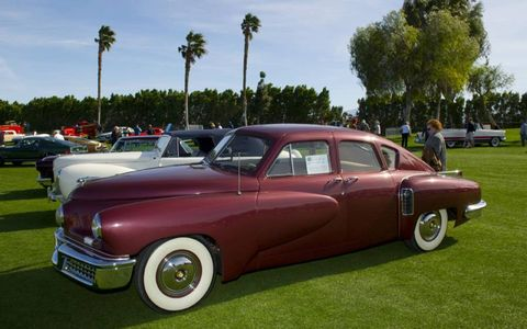 A 1948 Tucker 48 owned by RM Auctions was on display at the Desert Concours.
