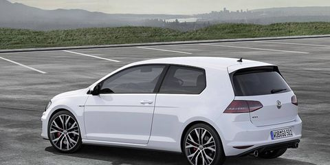 The GTI debuts at the Geneva motor show.