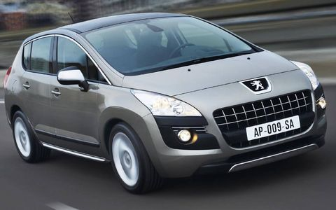 The newest entry in the Peugeot stable fits in the tall-wagon/short utility vehicle category, which seems to be enjoying decent popularity across Europe. When it debuts at Geneva in March, it's expected to come with a 1.6 liter turbo four and a 2.0 liter HDi four cylinder diesel.