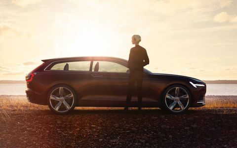 Volvo's Concept Estate will be unveiled in the metal at the Geneva Motor Show next week.