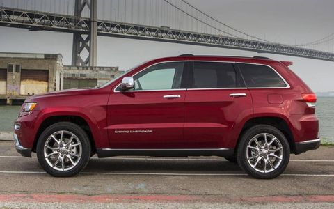 A V6 diesel engine is an option on the 2014 Jeep Grand Cherokee.