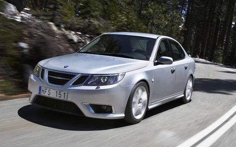 In 2009 the Saab 9-3 offers cross-wheel-drive and a more powerful engine
