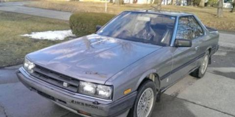 This isn't just your run-of-the-mill turbocharged 1985 Nissan Skyline coupe: It's a Paul Newman Version Skyline. Around these parts, that counts for something.
