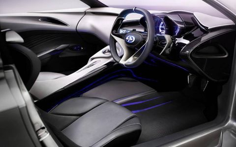 Motor vehicle, Mode of transport, Automotive design, Steering part, Blue, Steering wheel, Car, Center console, Personal luxury car, Vehicle audio,