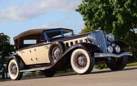 The 1933 Chrysler Imperial CL Phaeton will be on sale at Auctions America Fort Lauderdale on March 17.