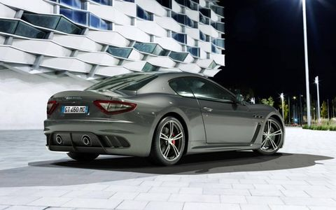 The GranTurismo MC Stradale changes from a two-seater to a four-seater.