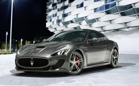 The GranTurismo MC Stradale will debut at the Geneva motor show on March 5.