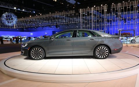 The 2017 Lincoln MKZ could be a sign that Lincoln is getting closer to competing for customers that want a luxe sport sedan.