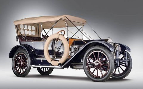 1912 Oldsmobile Limited Five-Passenger Touring sold for $3.3 million