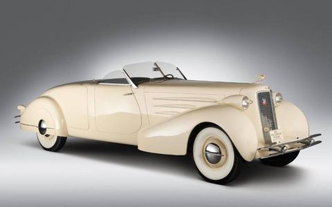 1934 Cadillac Sixteen Custom Roadster