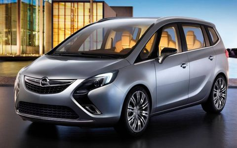 The Opel Zafira Tourer Concept