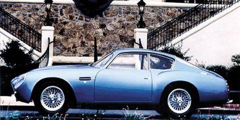 The DB4 GT Zagato began Aston's long partnership with the coachbuilder.