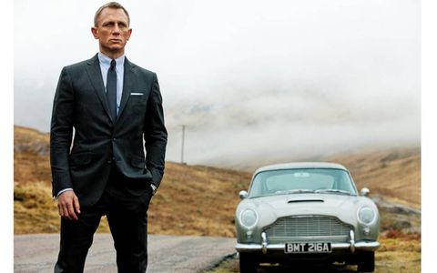 The DB5 co-starred with Daniel Craig in the James Bond film Skyfall.