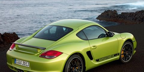The 2012 Porsche Cayman R