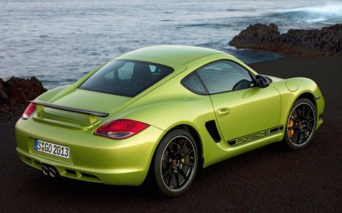 The 2012 Porsche Cayman R