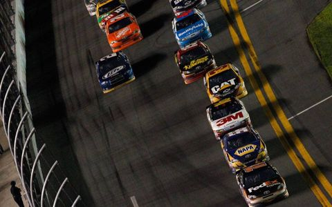 Action from the 54th Daytona 500 on Monday night.