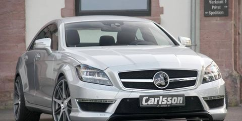 The Carlsson CK63 gets a bump in torque to 737 lb-ft.