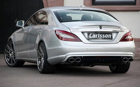 Carlsson adds a stainless steel exhaust.