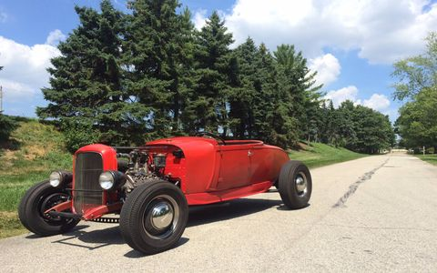 Alex Steelsmith's 1929 Ford Model A roadster is a prime example of what traditional hot rods are all about.