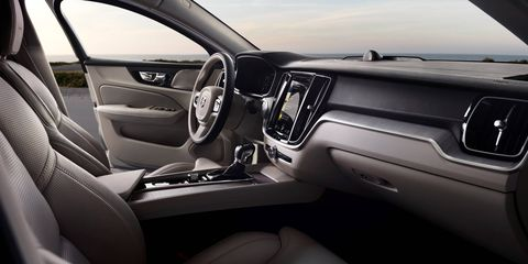 The 2019 Volvo S60 rides on the company's Scalable Product Architecture platform.