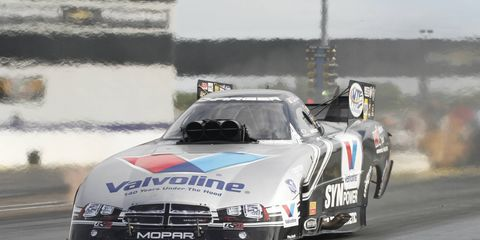 Jack Beckman won the 2012 NHRA Funny Car championship only to fall all the way to 11th in the points standings in 2014.