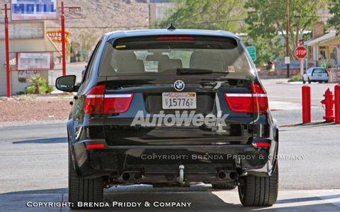 Twin turbocharged BMW X5