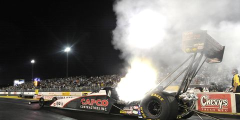 Steve Torrence's record run bested the previous mark set by Brittany Force.