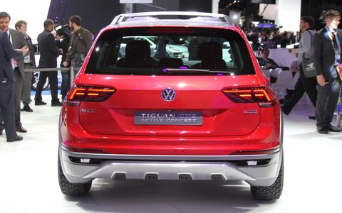 The 2016 Volkswagen Tiguan GTE Active Concept made its debut at the at the 2016 Detroit Auto Show in January.