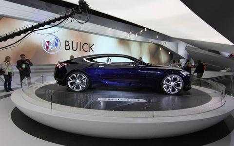 Buick Avista concept debuts at the Detroit auto show