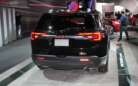 2017 GMC Acadia at the Detroit auto show