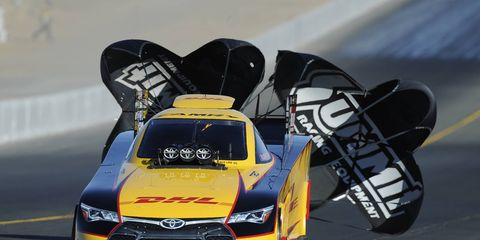 Del Worsham and the racers of the NHRA are back live on Fox TV on Aug. 7.