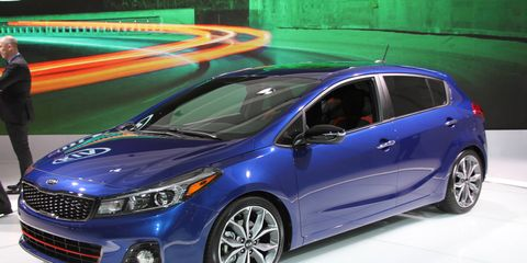 The 2017 Kia Forte and Forte5 combine European styling with Optima familiarity.