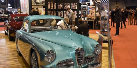 Retromobile hosted over 500 cars this year, hailing from dozens of rare marques.