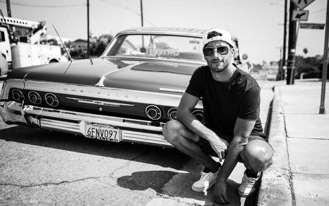 Red Bull Formula 1 driver Daniel Ricciardo took a page from Ferris Bueller and took a day off -- in LA. The day started in a 1970 Monte Carlo in East LA.