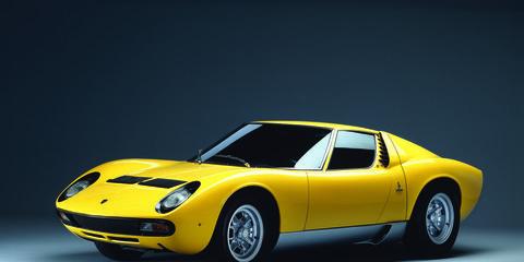 The Lamborghini Miura SV.