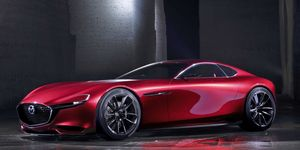 Mazda previewed a return to rotary powerplants in 2015, with the RX-Vision concept.