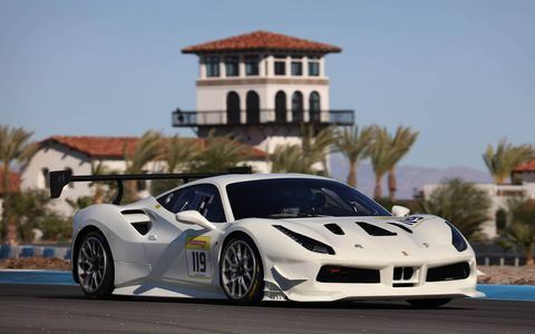 The Ferrari Challenge celebrates its 25th year in 2017 with an all-new 488 GTB.
