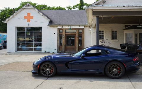 The Viper was not just a car, it had its own life.