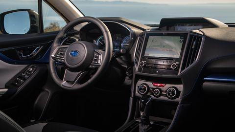 The 2019 Subaru Crosstrek Hybrid is as ergonomic and comfortable as its non-hybrid siblings.