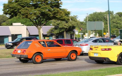 The 2016 Woodward Dream Cruise is officially on Saturday, August 20, but as these photos show, there's already plenty of action on the Avenue.