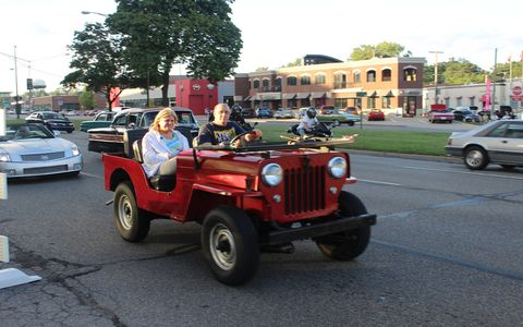The annual Woodward Dream Cruise brings out everything and everyone. Here's a look at some of the offbeat transportation choices that showed up in 2016.